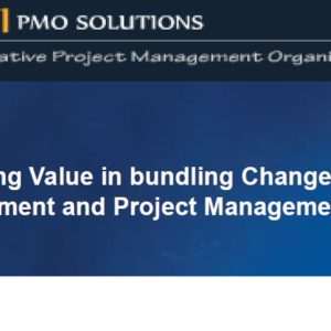 ChangeMgmt&ProjectMgmt - Presentation for PMI PDD