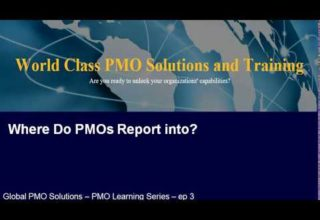 PMO Learning Series Where PMOS report to